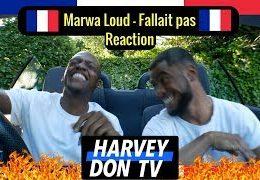 Harvey Don TV – Marwa Loud – Fallait pas Reaction